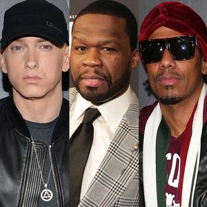 Eminem, 50 Cent, Nick Cannon