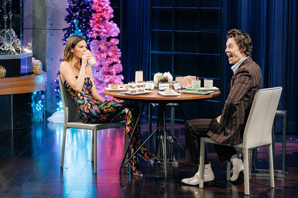 Kendall Jenner, Harry Styles, The Late Late Show