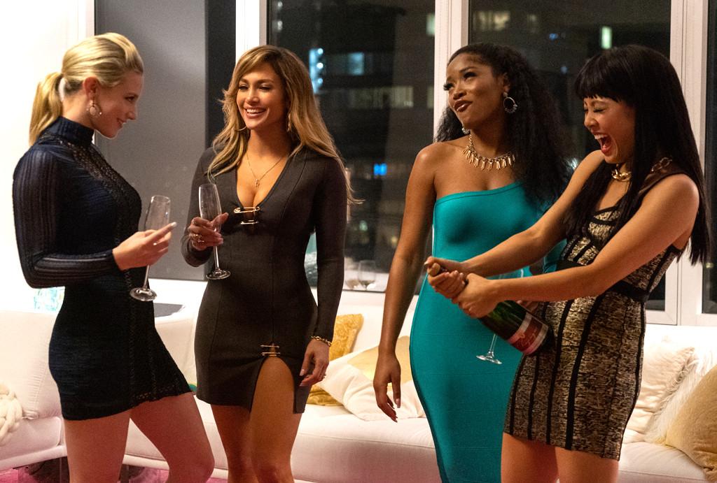 Hustlers, Jennifer Lopez, Constance Wu, Lili Reinhard, Keke Palmer