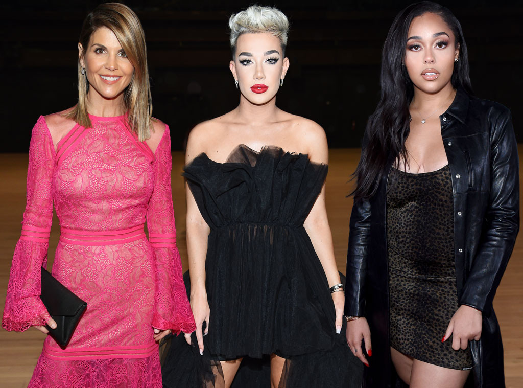 Lori Loughlin, James Charles, Jordyn Woods