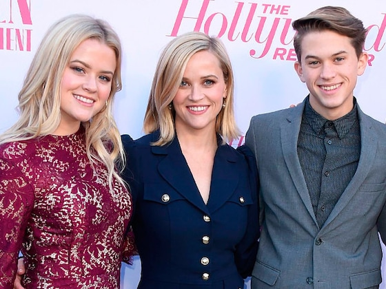 Reese Witherspoon's Kids and Husband Join Her for Rare Red Carpet Moment