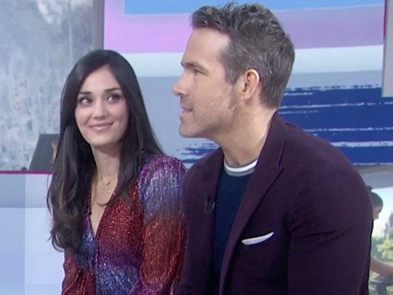 Ryan Reynolds and Peloton Actress Monica Ruiz Finally Meet After Hilarious Gin Ad