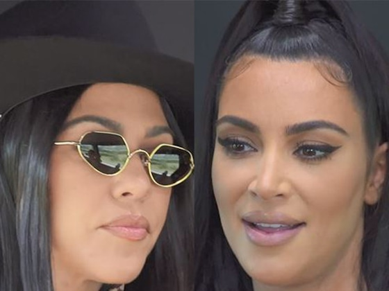 "Kim Kardashian Admits She Can Be ""So Mean"" To Kourtney as They Work Out Their Issues"