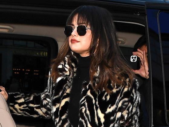 Selena Gomez Turns Heads With Revolving Door of Trendy Coats in London