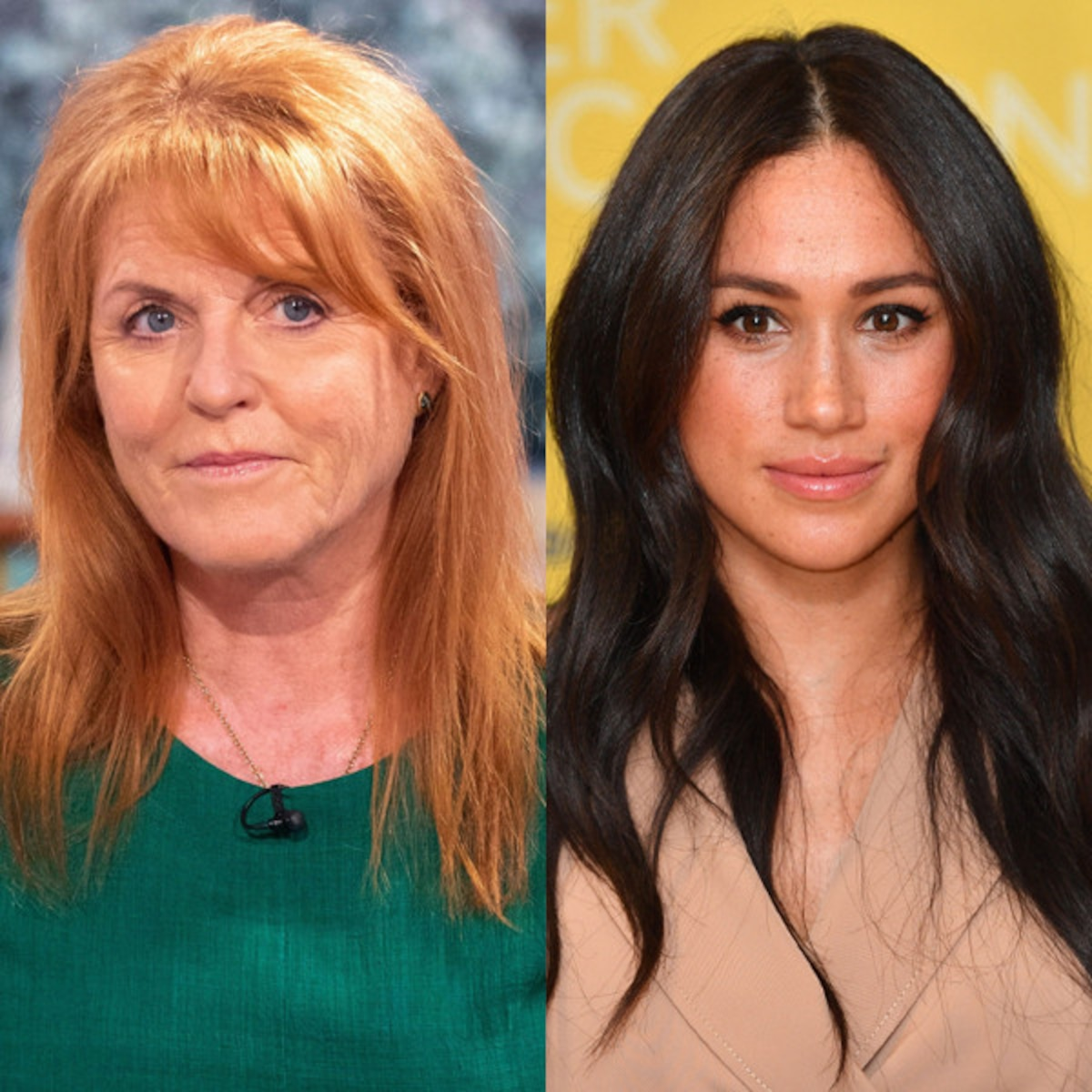 sarah ferguson relates to meghan markle s sad tiring reality e online sarah ferguson relates to meghan markle