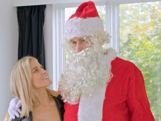 Jay Cutler Dressed as Santa Claus Will Get You in the Christmas Spirit