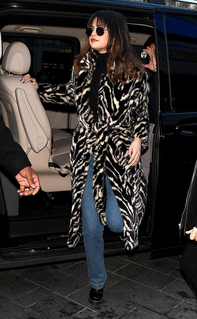Selena Gomez, London Outfits