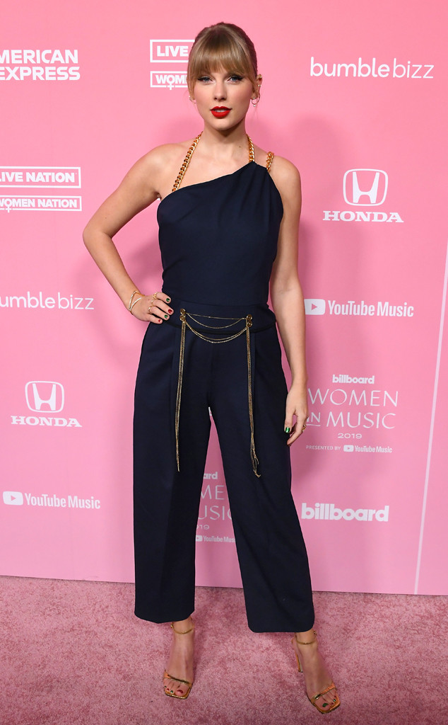 Taylor Swift, 2019 Billboard Women in Music, Red Carpet Fashion