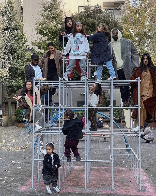 Kim Kardashian, Kourtney Kardashian, Kids