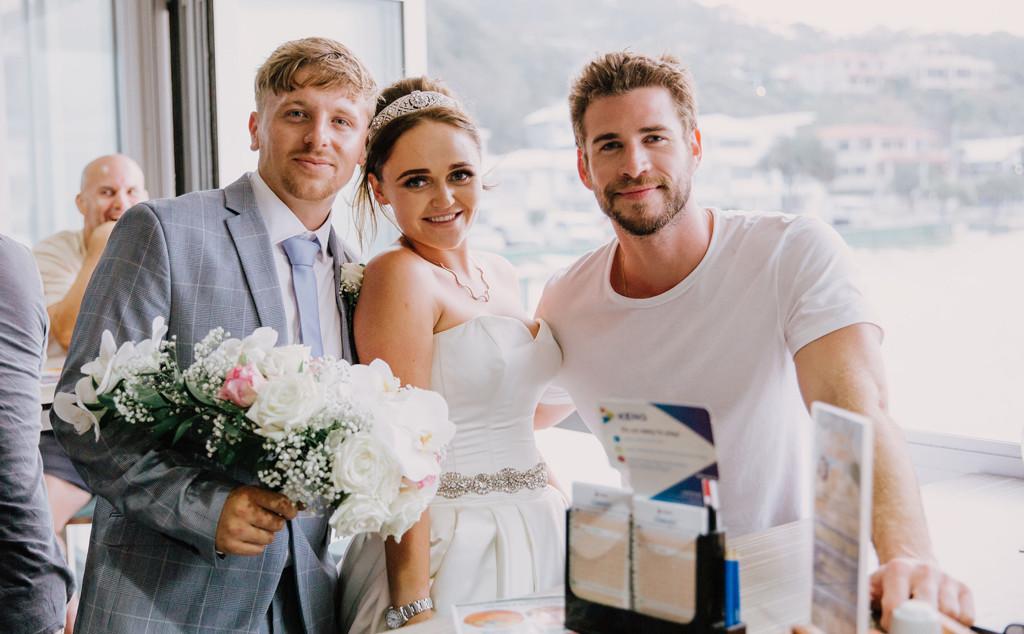 Liam Hemsworth, Weddings