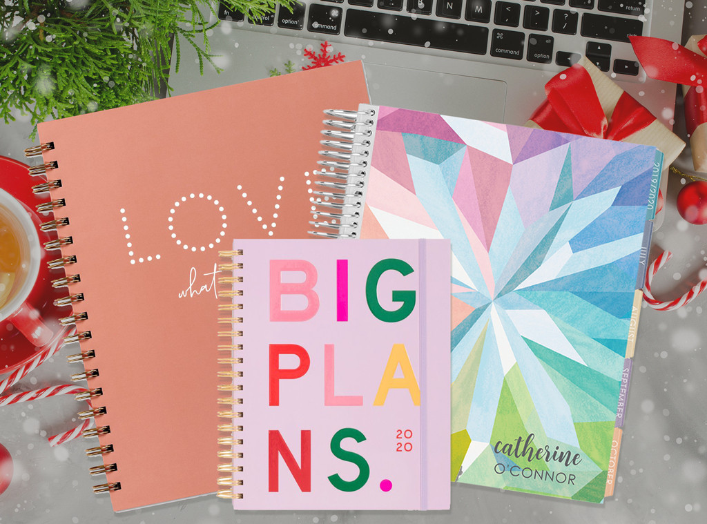 E-Comm: 10 Planners That Are So Cute You'll Actually Use Them in the New Year