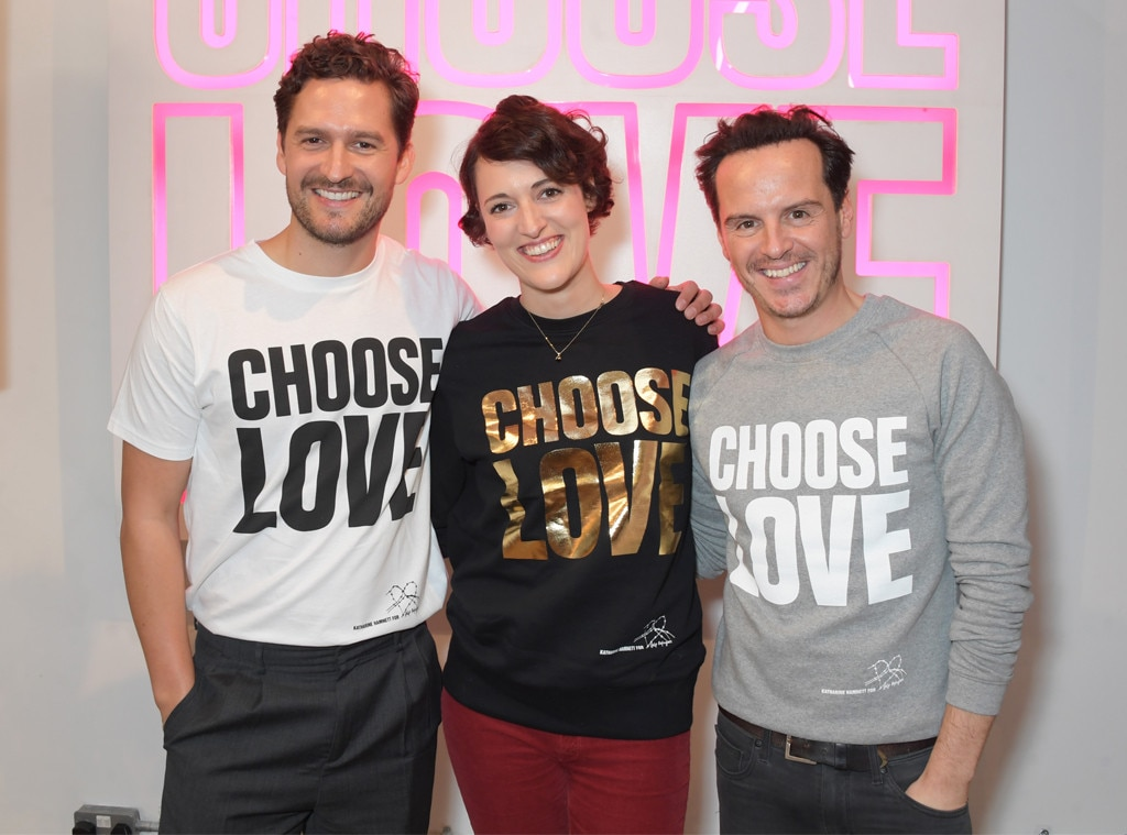 Ben Aldridge, Phoebe Waller-Bridge, Andrew Scott