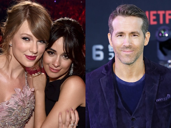 Watch Ryan Reynolds Interrogate Camila Cabello About Taylor Swift's Cats