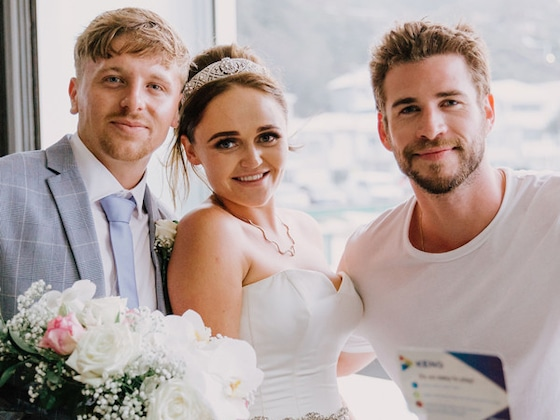 Liam Hemsworth Gives Superfan the Surprise of a Lifetime on Her Wedding Day