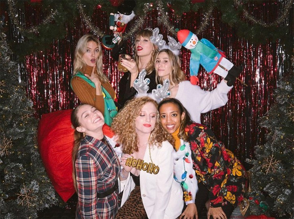 Taylor Swift, Gigi Hadid, Martha Hunt, 30th Birthday, Party, Instagram