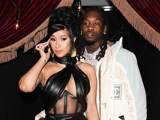 Cardi B Makes It Rain $500,000 at Offset's 28th Birthday Party