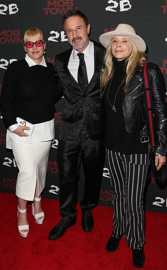 Patricia Arquette, David Arquette, Rosanna Arquette