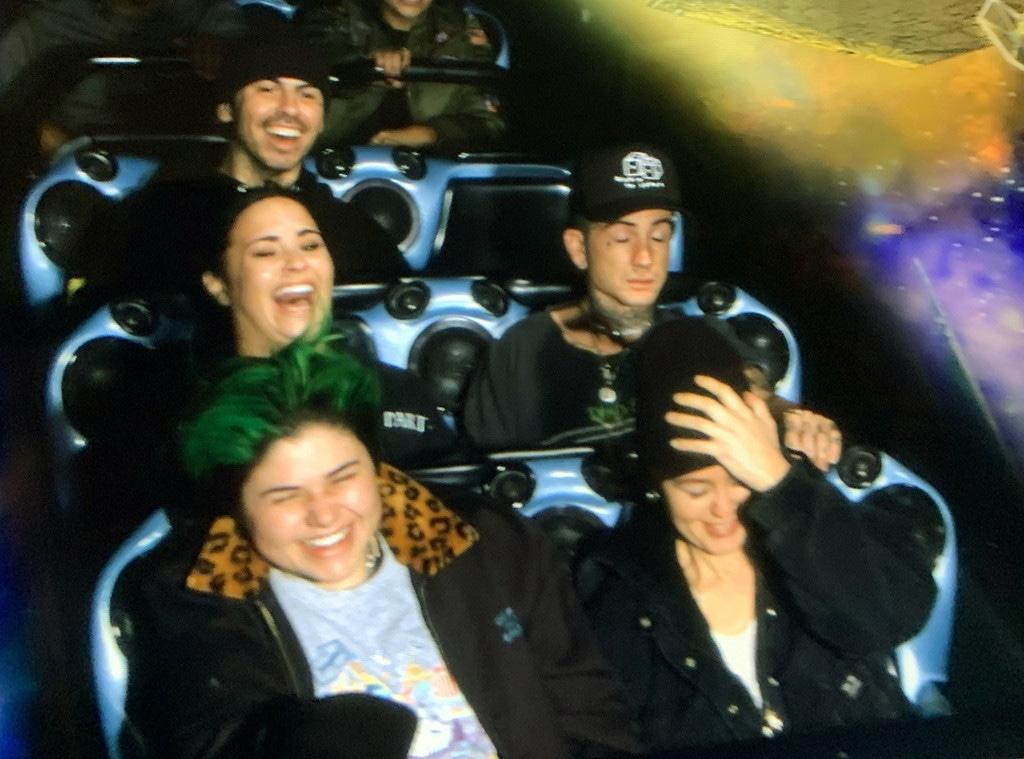 Demi Lovato, Austin Wilson, Disneyland