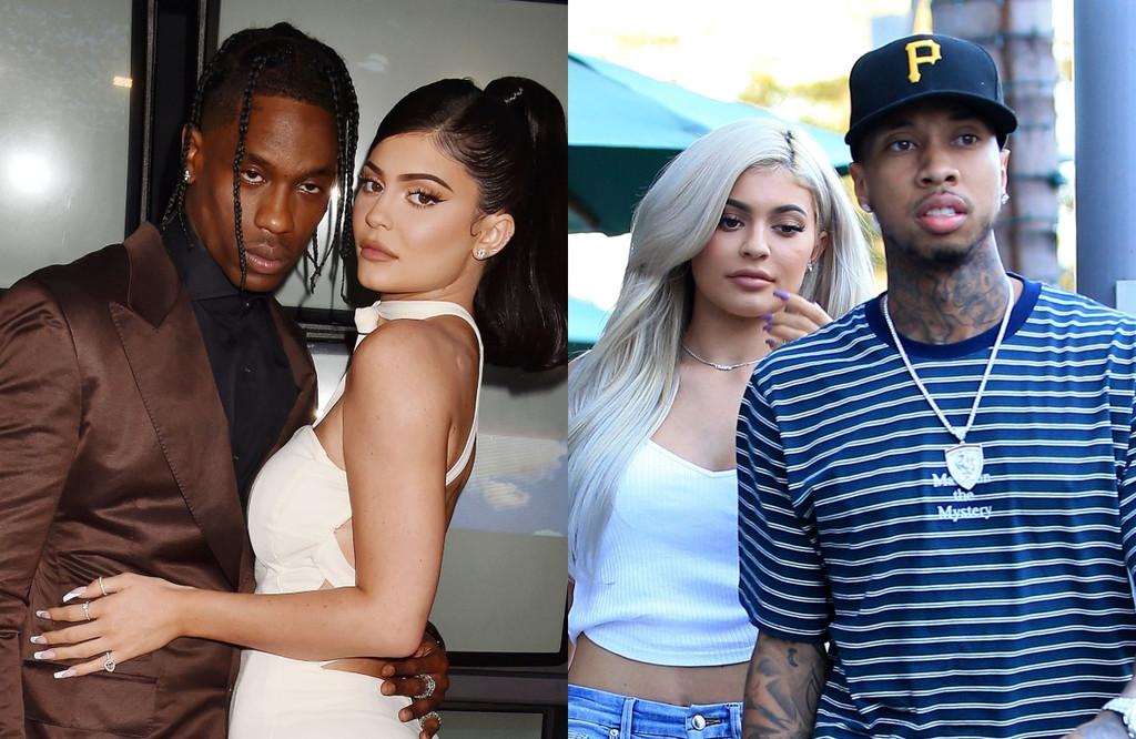 Kylie Jenner, Travis Scott, Tyga