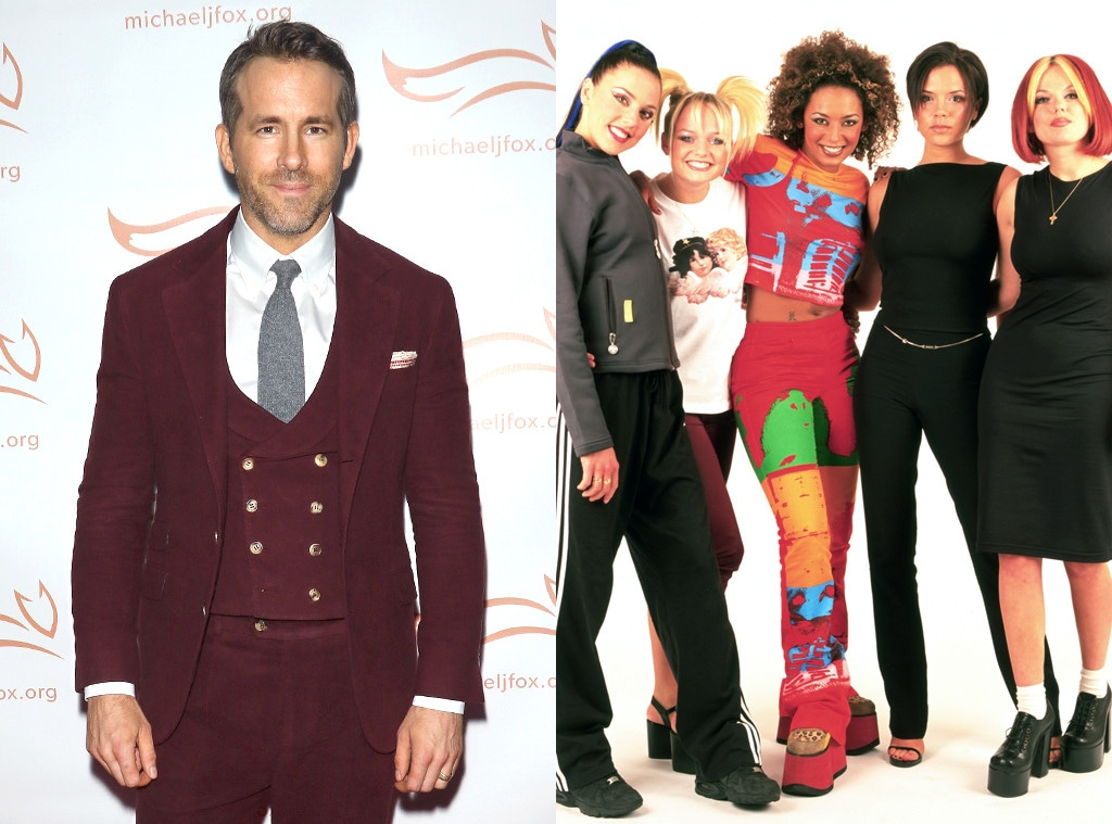 Ryan Reynolds, Spice Girls