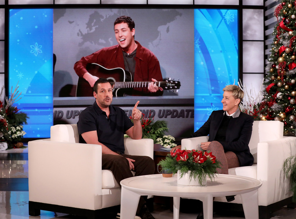 Adam Sandler, Ellen DeGeneres Show