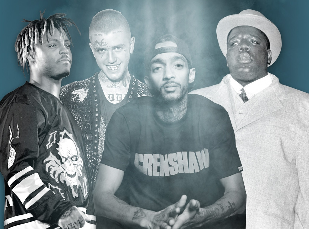 Charts After Death Feature, Juice WRLD, Notorious B.I.G., Nipsey Hussle, Lil Pump