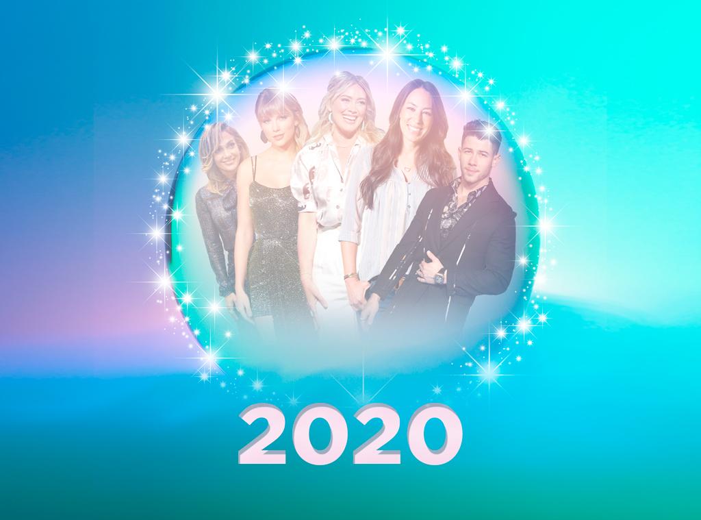 Pop Culture Events in 2020, Taylor Swift, Jennifer Lopez, Hilary Duff, Joanna Gaines, Nick Jonas