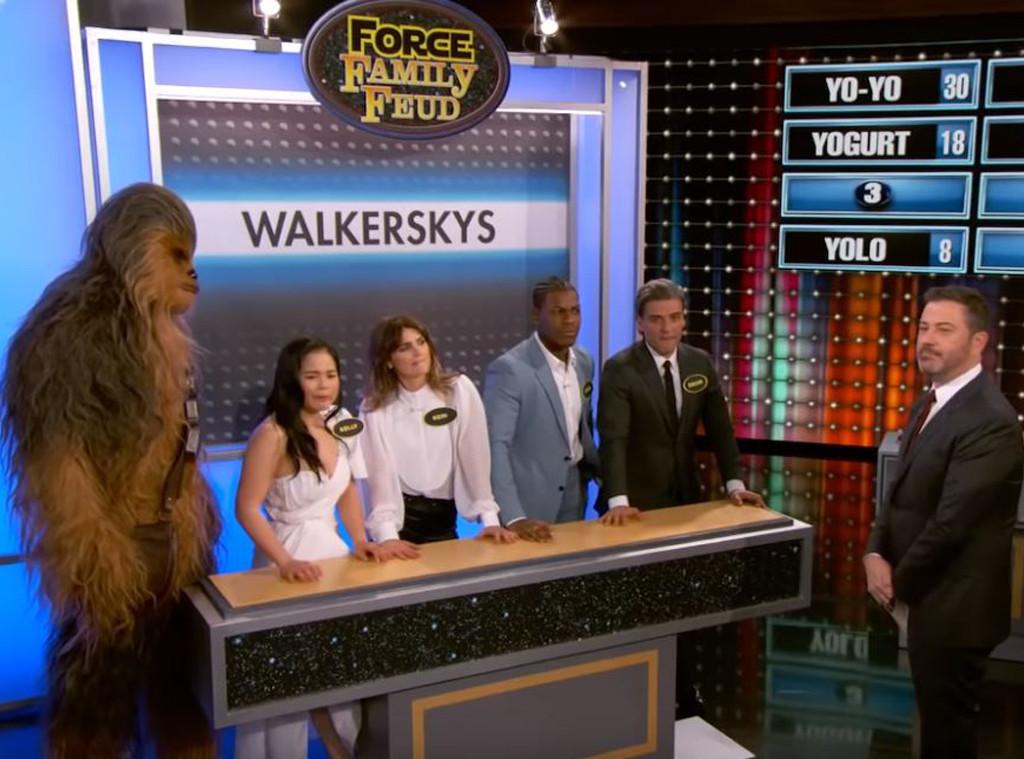Star Wars Cast, Jimmy Kimmel Live 2019