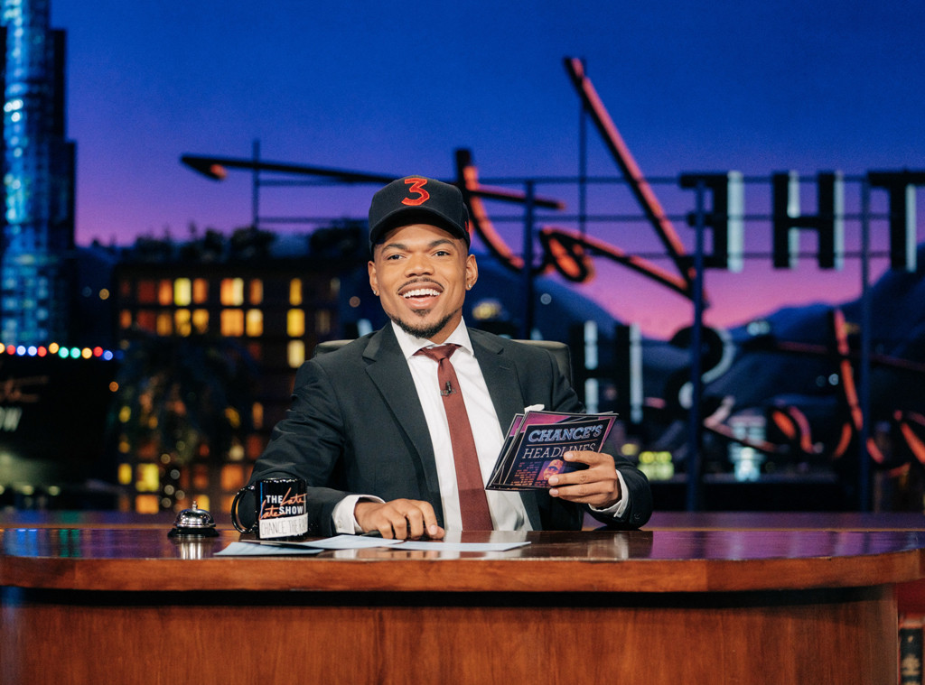 Chance the Rapper, Late Late Show