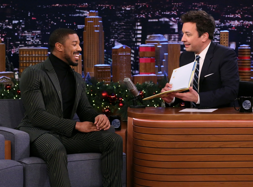 Michael B. Jordan, The Tonight Show Starring Jimmy Fallon 2019