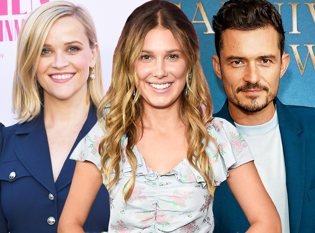 Reese Witherspoon, Millie Bobby Brown, Orlando Bloom