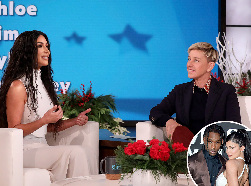 kim Kardashian, Ellen Degeneres