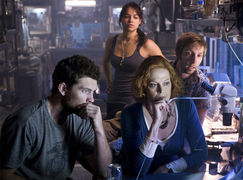 Sigourney Weaver, Sam Worthington, Michelle Rodriguez, Avatar