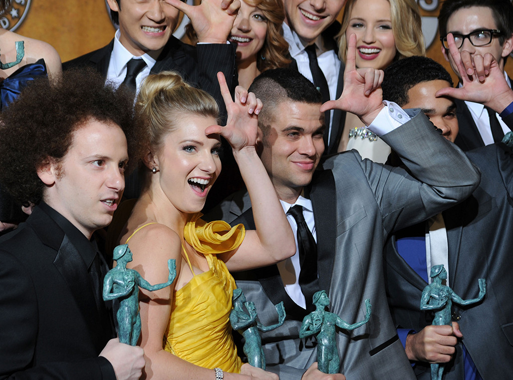 SAG 10 Years Ago - The cast of Glee
