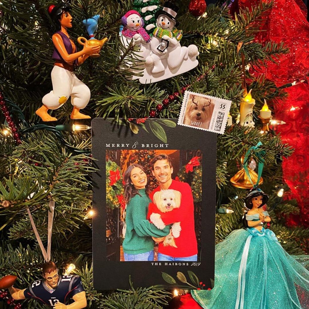 Jared Haibon, Ashley Iaconetti, Holiday Cards 2019