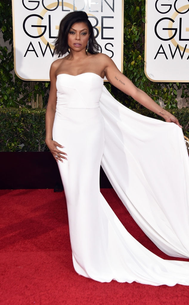 Taraji P. Henson, Golden Globes fashion
