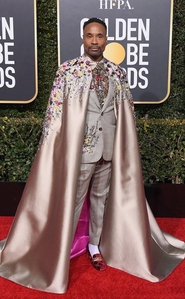 Billy Porter, Golden Globes fashion