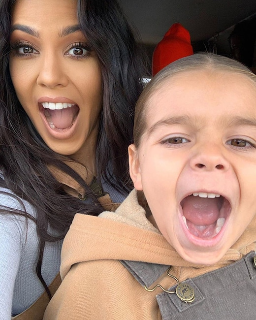 Kourtney Kardashian, Reign Disick, Instagram