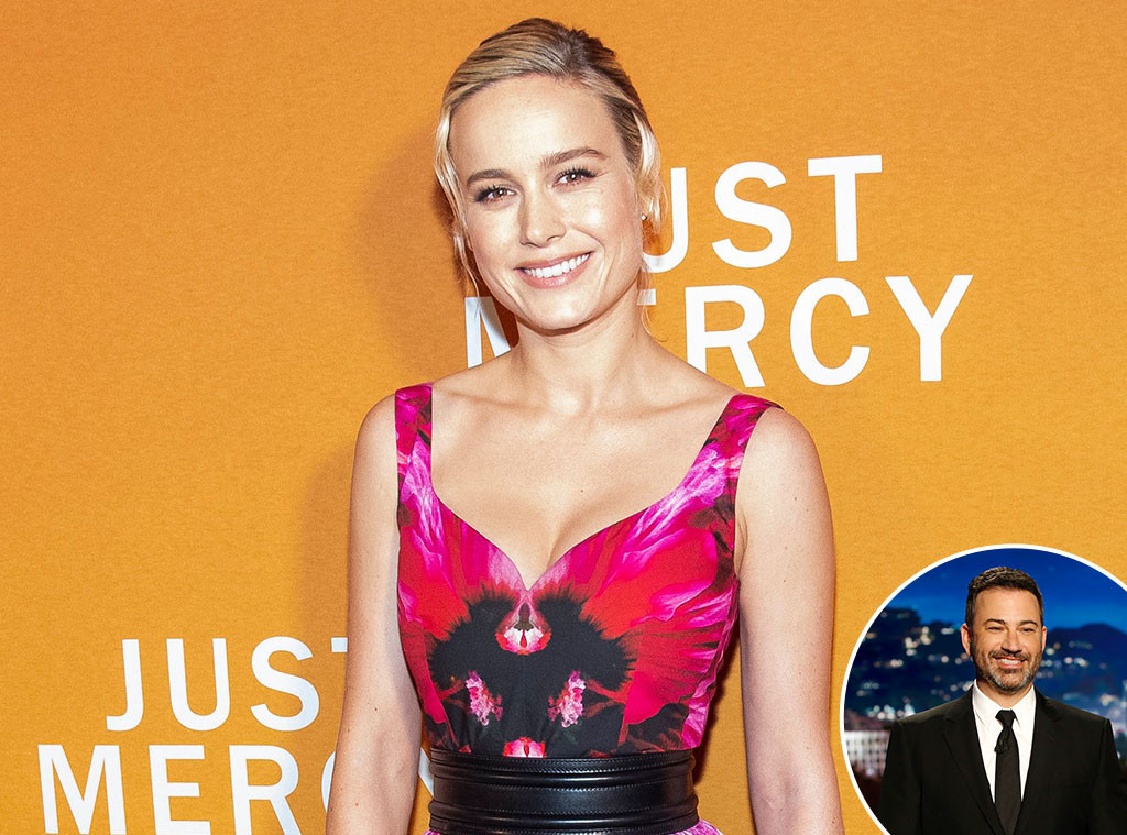 Brie Larson, Jimmy Kimmel