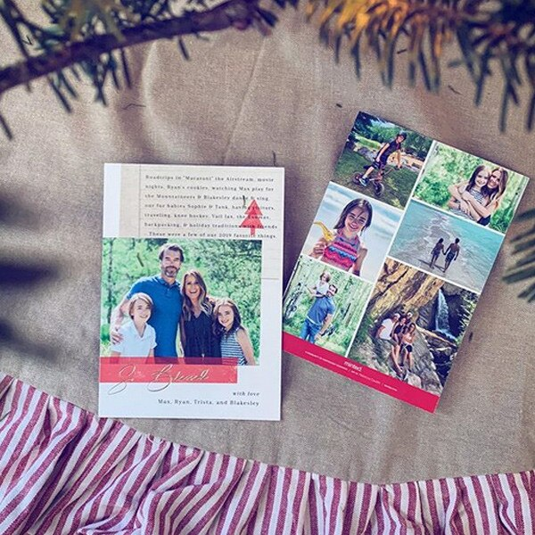 Trista Sutter, Holiday Cards 2019