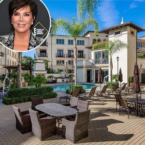 Kris Jenner, Real Estate, Calabasas Penthouse Condo