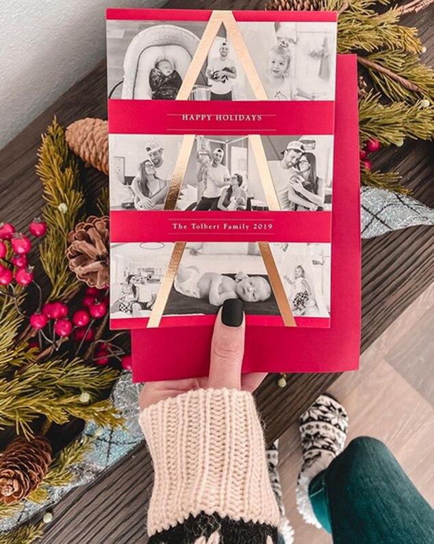 Jade Roper, Tanner Tolbert, Holiday Cards 2019
