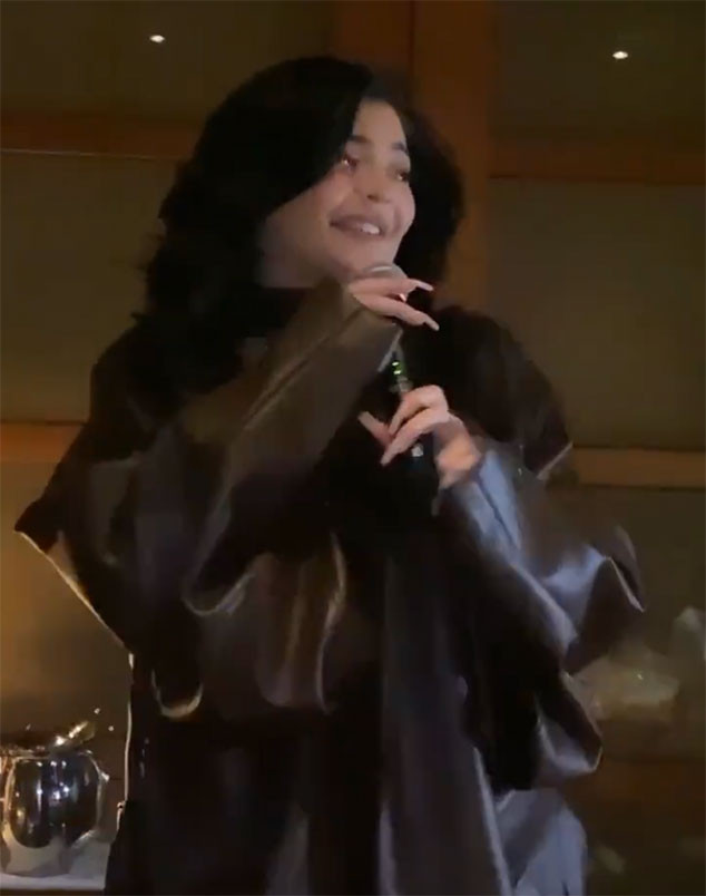 Kylie Jenner, singing, Rise and Shine