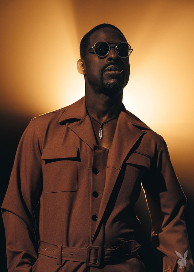 Sterling K. Brown, Playboy