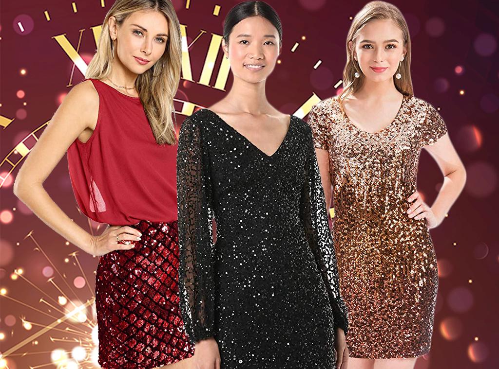 E-Comm: Amazon New Year's Dresses