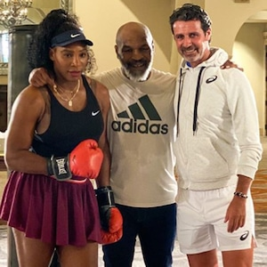 Serena Williams, Mike Tyson, Patrick Mouratoglou