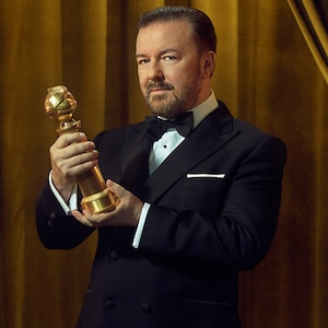 Ricky Gervais, Golden Globe Awards