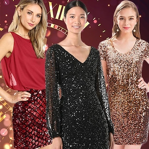 E-Comm: Amazon New Year's Dresses