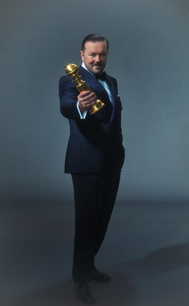 Ricky Gervais, 2020 Golden Globes