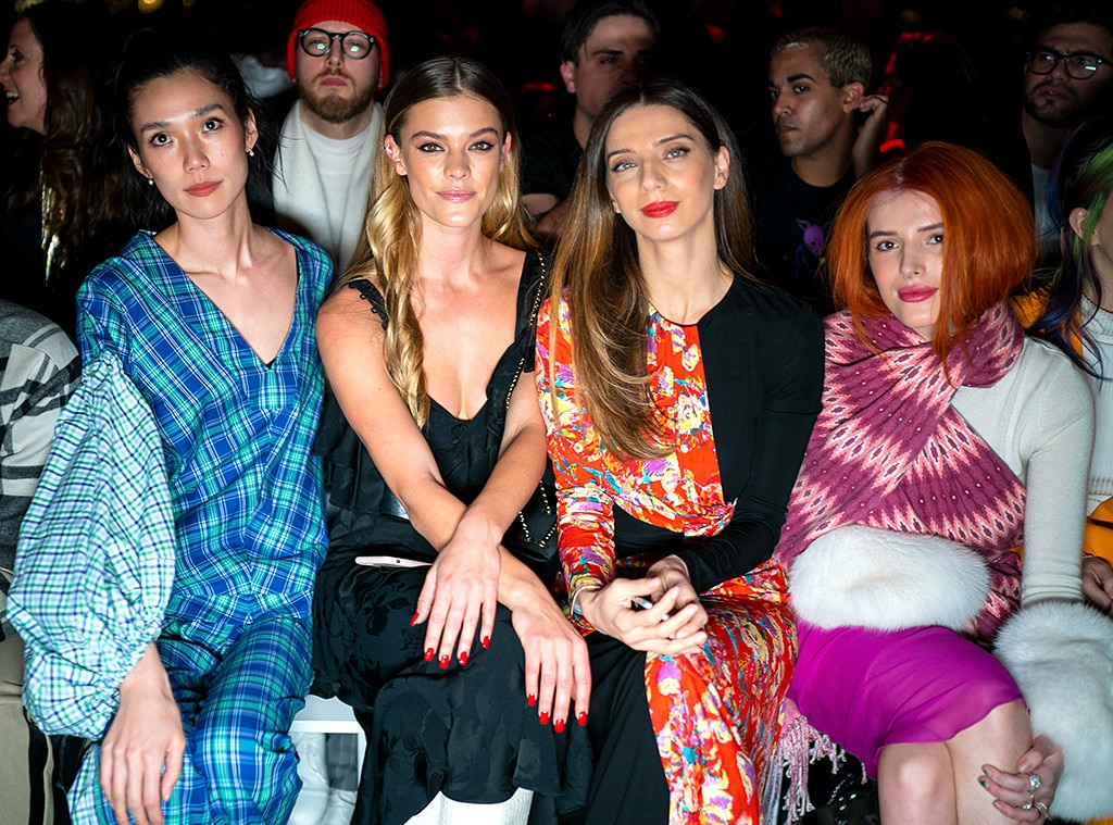 Tao Okamoto, Nina Agdal, Angela Sarafyan, Bella Thorne, Fashion Week Events, Prabal Gurung fashion show